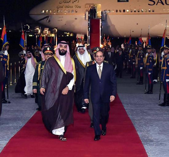 الرئيس السيسي والملك محمد بن سلمان (1)