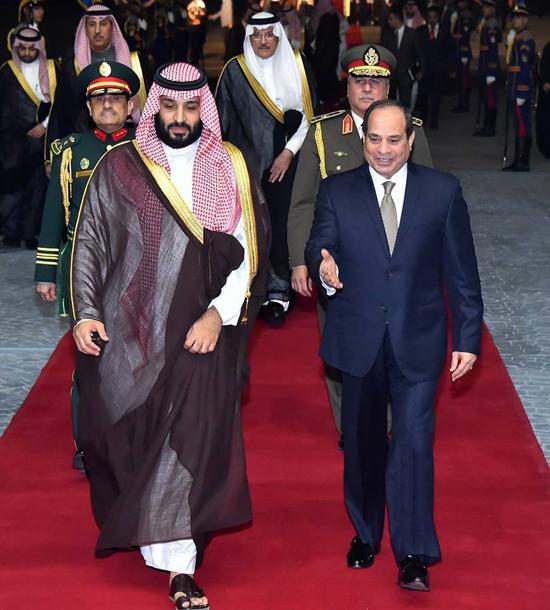 الرئيس السيسي والملك محمد بن سلمان (4)