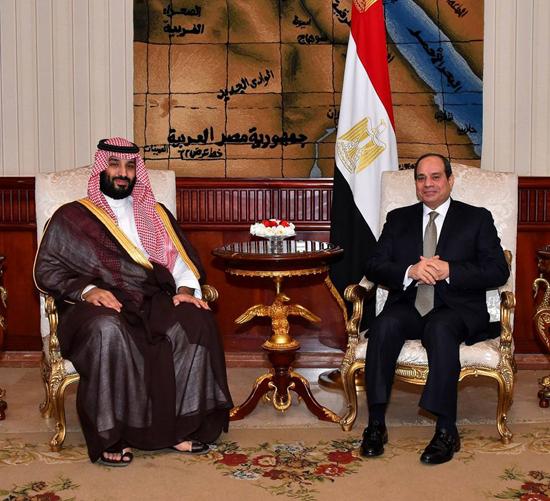 الرئيس السيسي والملك محمد بن سلمان (5)