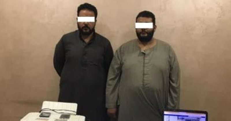 ضبط شخصين روجا المحررات الرسمية المزورة عبر مواقع التواصل الاجتماعى