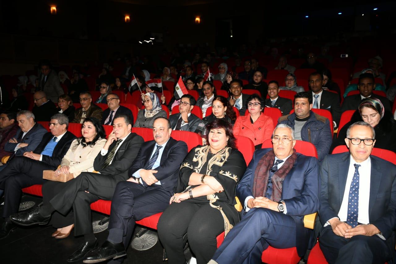 الدكتورة إيناس عبد الدايم وزيرة الثقافة (4)