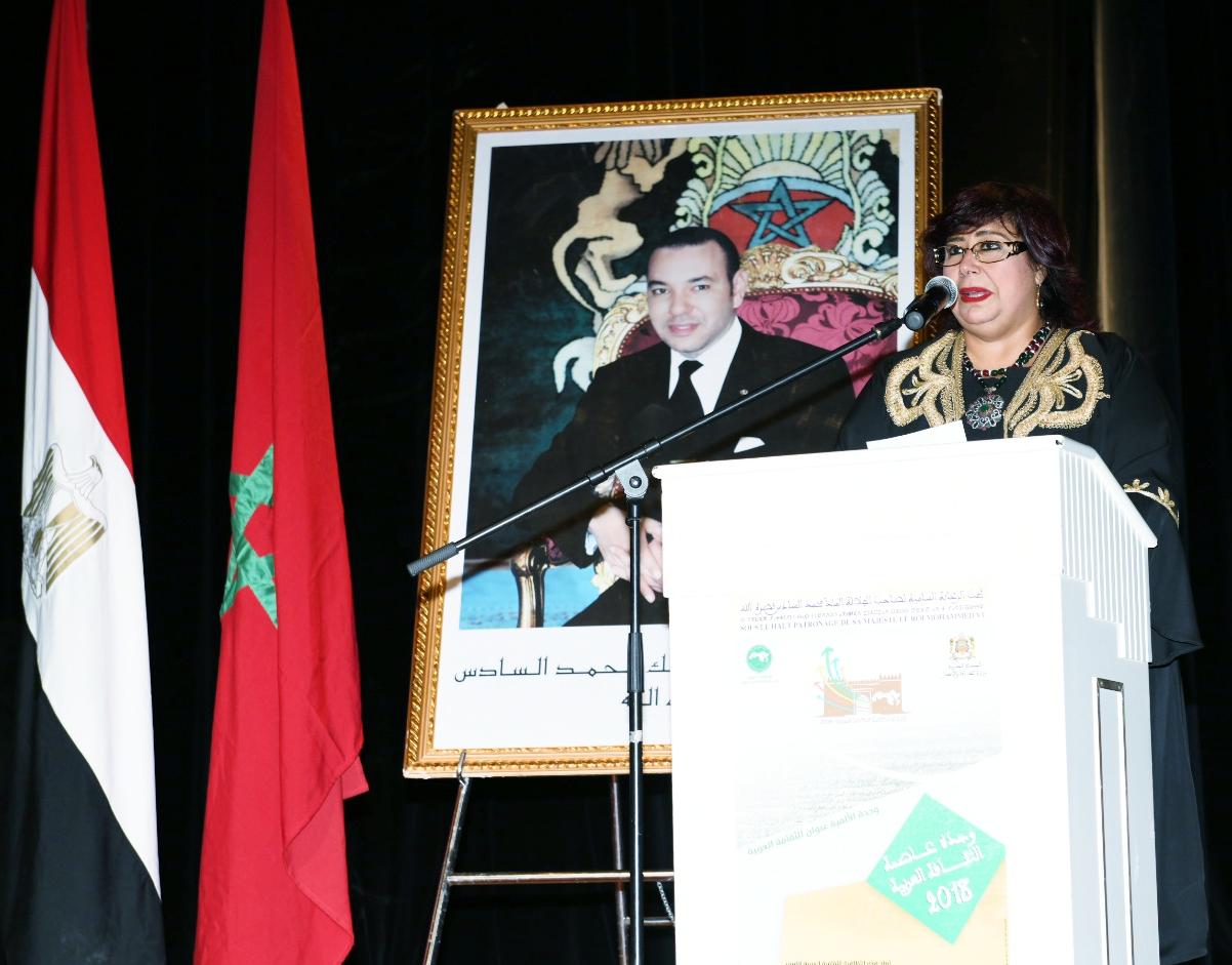 الدكتورة إيناس عبد الدايم وزيرة الثقافة (3)