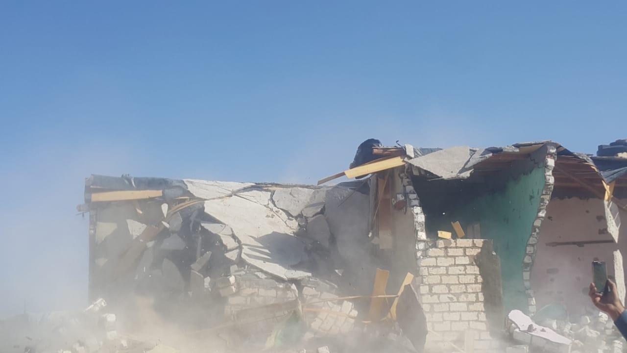 إزالة التعديات واستعادة 125 فدانا من أراضي الدولة بمدينة بئر العبد (9)