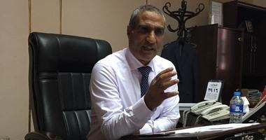 المهندس منصور بدوى رئيس شركه مياه الجيزة