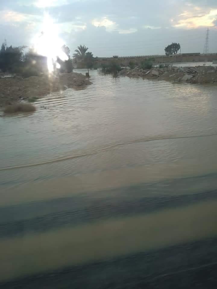 العواصف تضرب شمال سيناء (1)