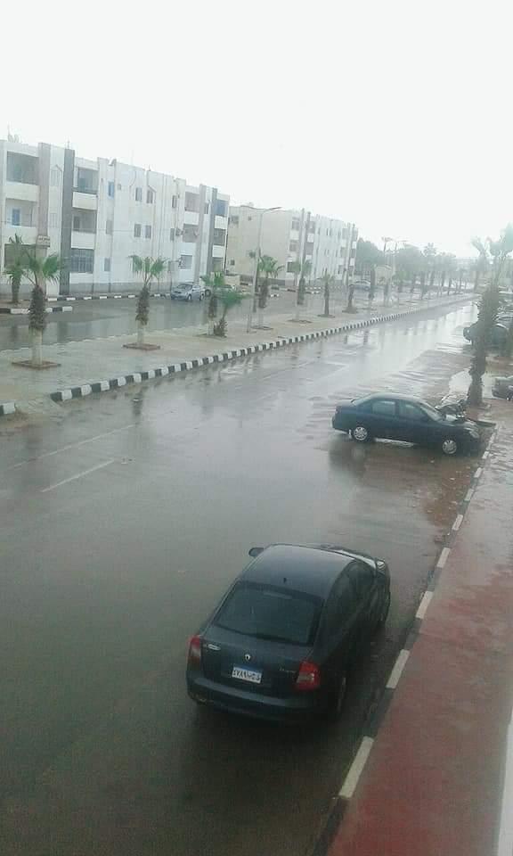 العواصف تضرب شمال سيناء (3)