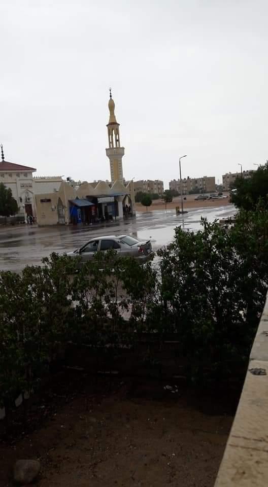 العواصف تضرب شمال سيناء (4)