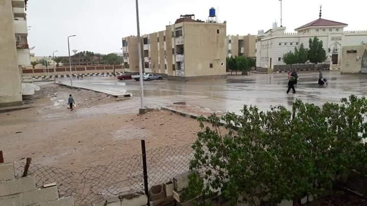 العواصف تضرب شمال سيناء (2)