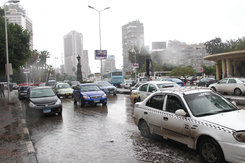 امطار في القاهرة