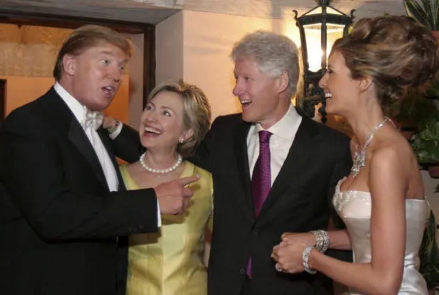 من حفل زواج ترامب وميلانيا