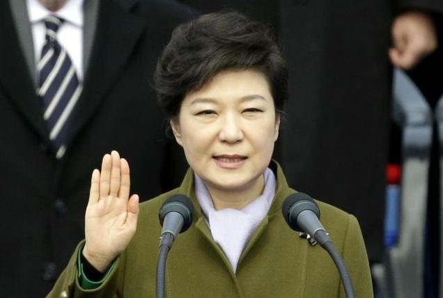 باك جن هي رئيسة كوريا الجنوبية