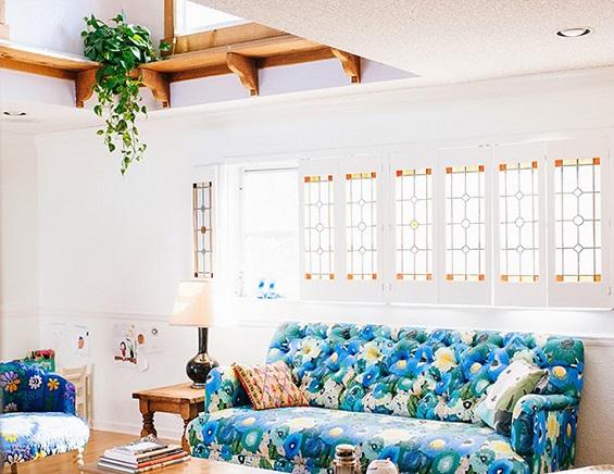 نباتات معلقة في السقف