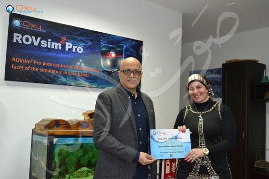 عروس البحر .. قصة أول فتاة مصرية قائد غواصات بالشرق الأوسط (27)