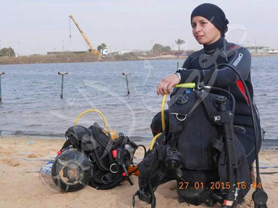 عروس البحر .. قصة أول فتاة مصرية قائد غواصات بالشرق الأوسط (5)