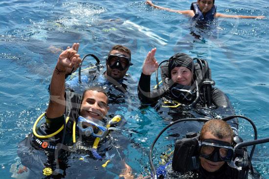 عروس البحر .. قصة أول فتاة مصرية قائد غواصات بالشرق الأوسط (25)