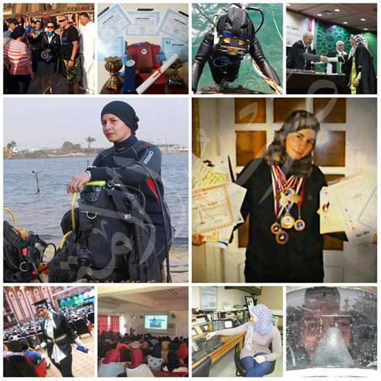 عروس البحر .. قصة أول فتاة مصرية قائد غواصات بالشرق الأوسط (14)