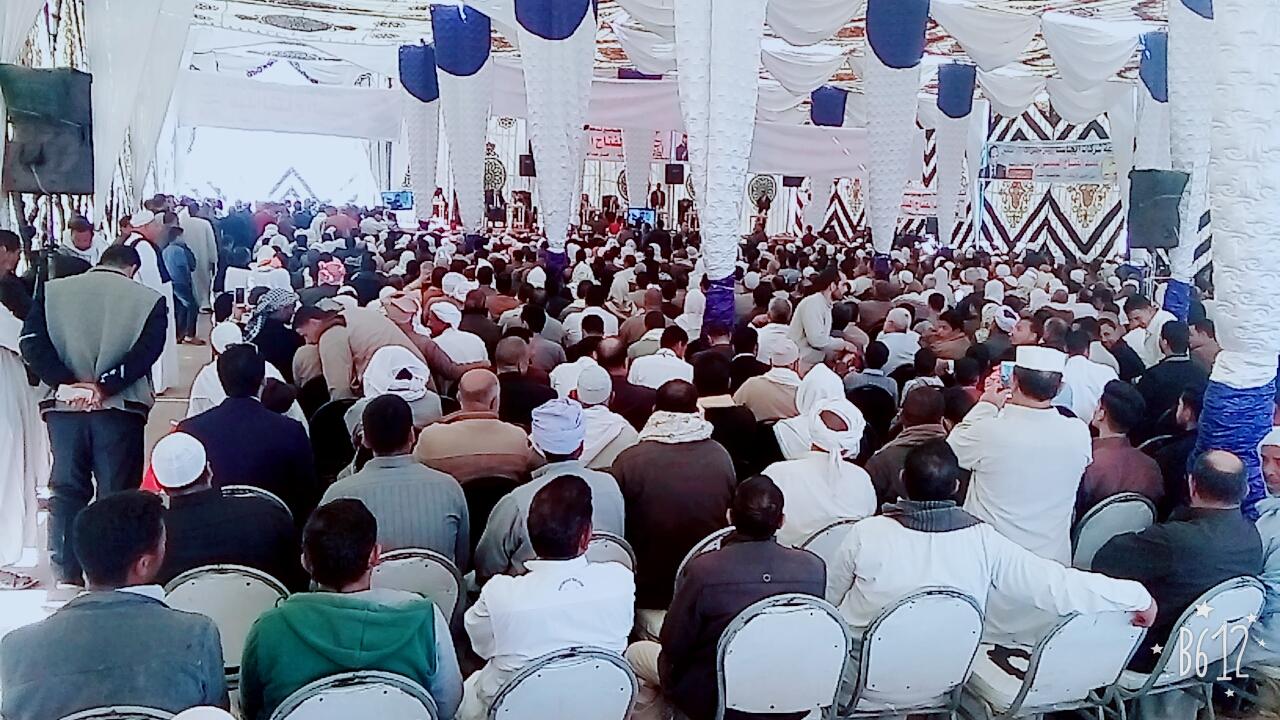 مؤتمرًا جماهيريًا لدعم الرئيس السيسى (1)