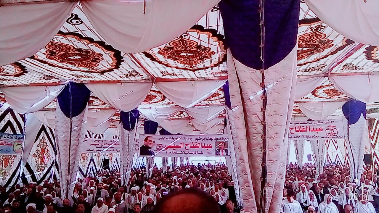مؤتمرًا جماهيريًا لدعم الرئيس السيسى (6)