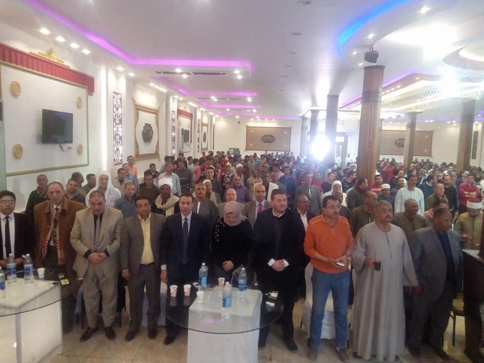 2- مؤتمرتاييد السيسي بمركز الفشن