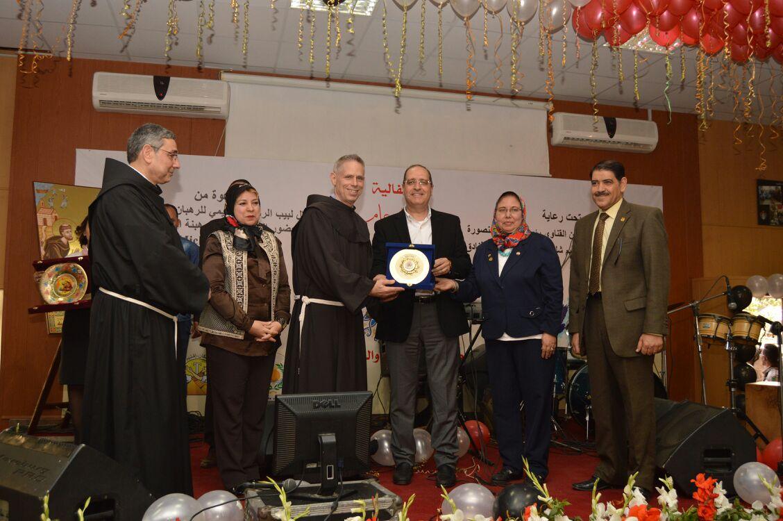 احتفالية مصر الطمأنينة والسلام بجامعة المنصورة  (1)