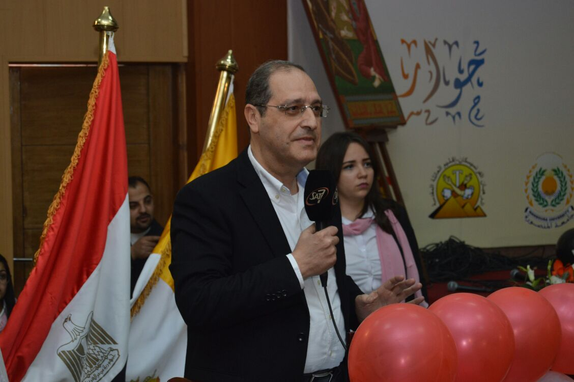احتفالية مصر الطمأنينة والسلام بجامعة المنصورة  (2)