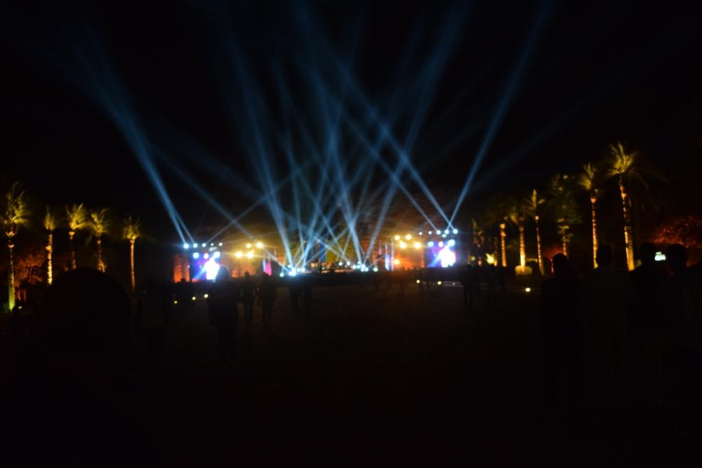 معبد الكرنك قبل حفل منير (2)
