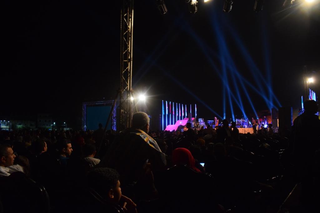 معبد الكرنك قبل حفل منير (4)