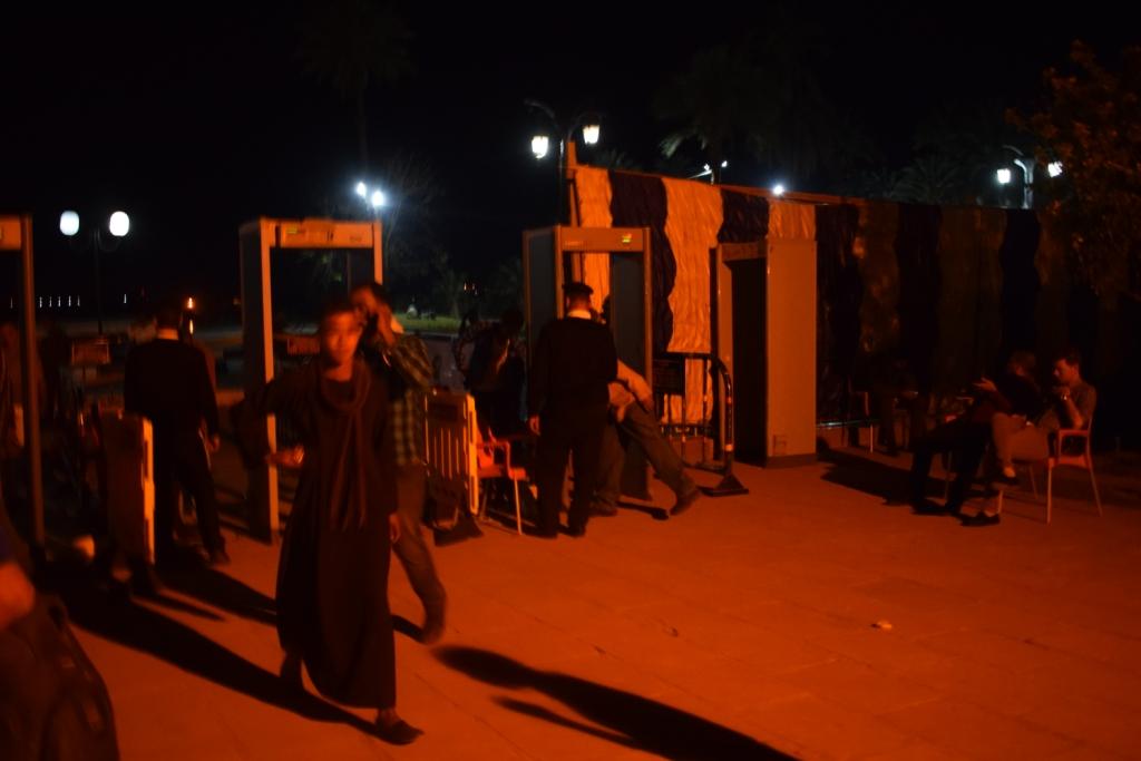 معبد الكرنك قبل حفل منير (7)