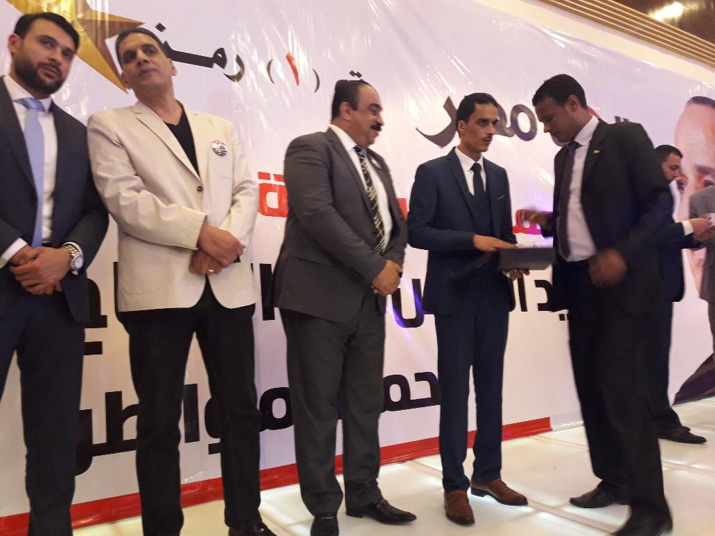 حملة مواطن بالإسكندرية تكرم صوت الأمة  (2)