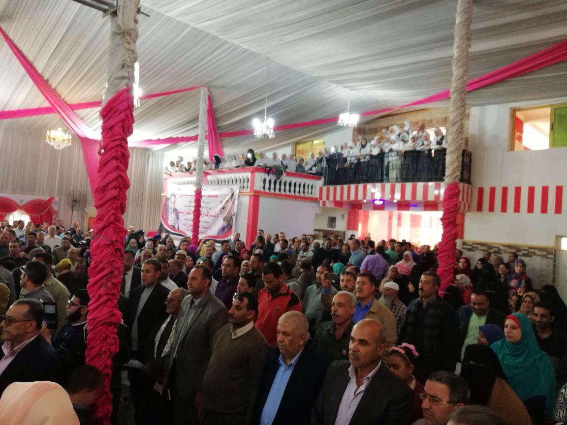 2- الحضور بمؤتمر مستقبل وطن
