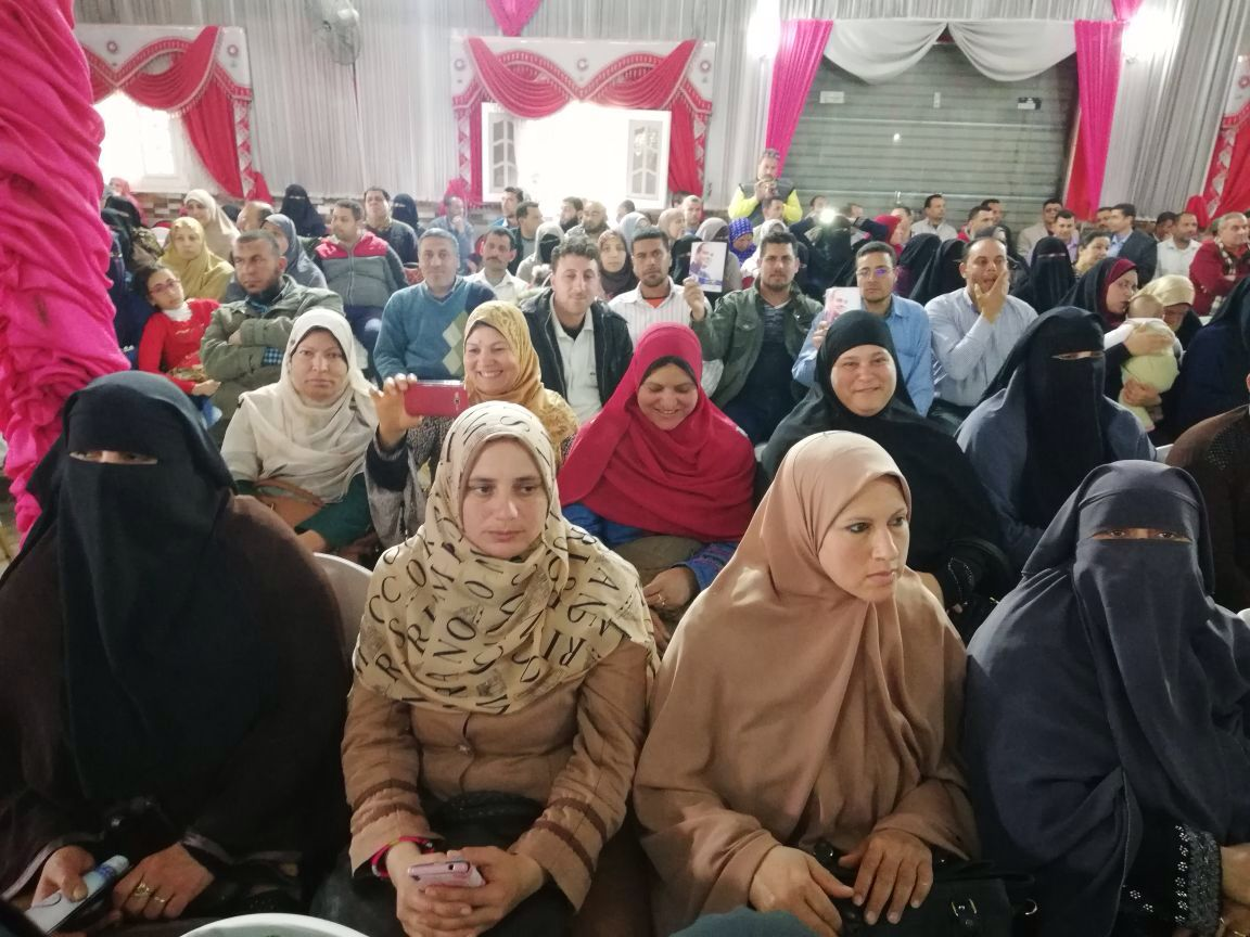 4- تكريم الامهات بمؤتمر مستقبل وطن