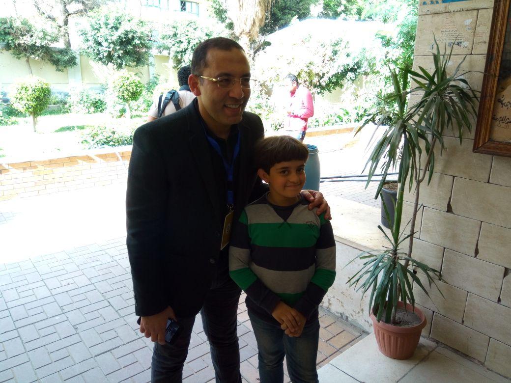 خالد صلاح والناخبين