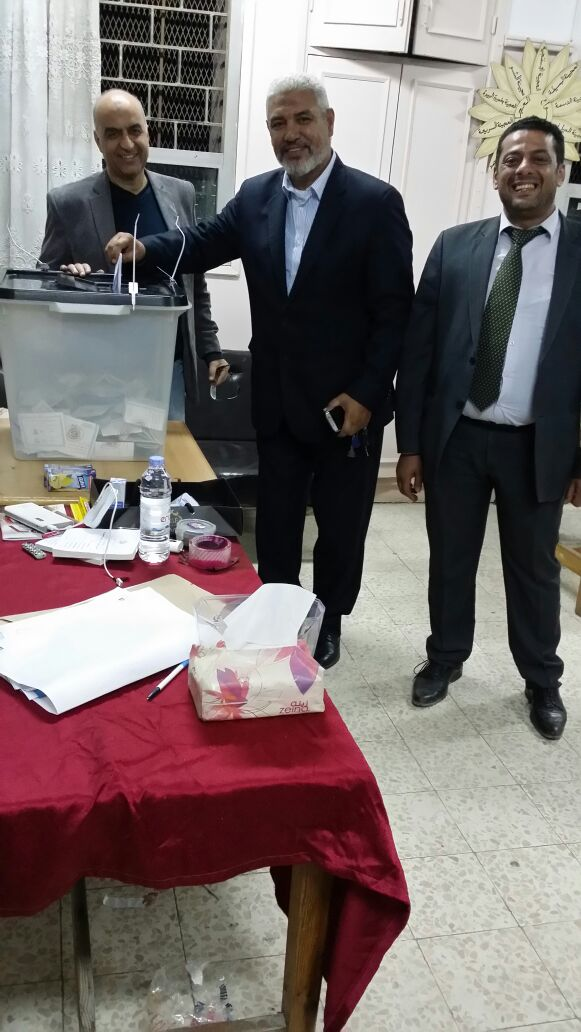 جمال عبد الحميد يدلي بصوته في انتخابات الرئاسة (1)
