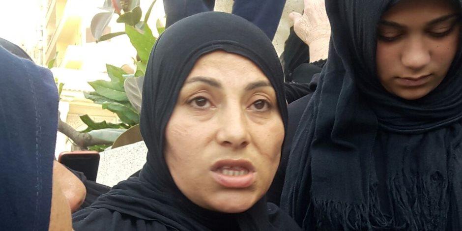 رزقة فؤاد زوجة الشهيد