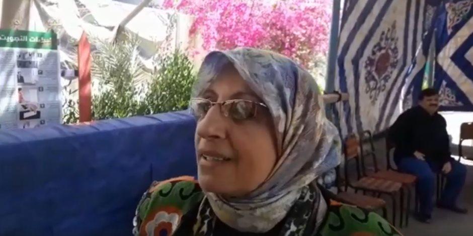 والدة المجند إبراهيم