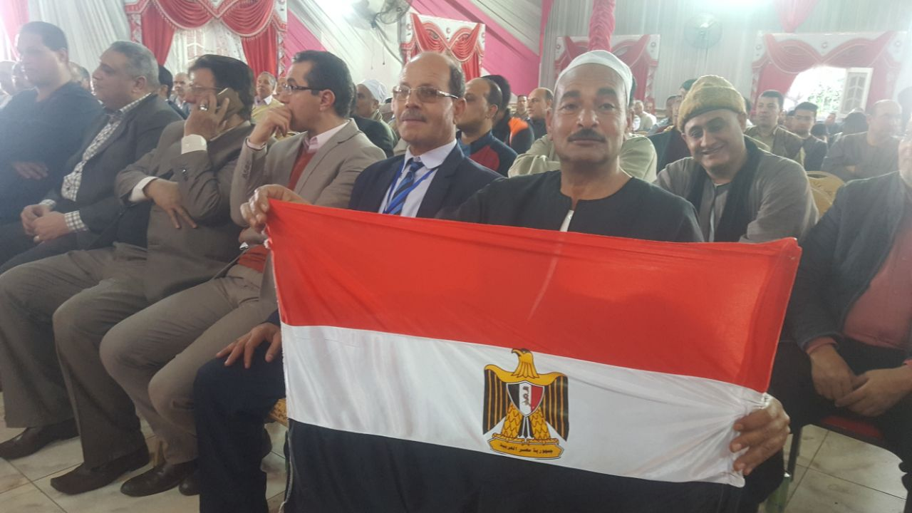 مؤتمر إنتخابي حاشد للرئيس السيسي بكفر الشيخ (3)
