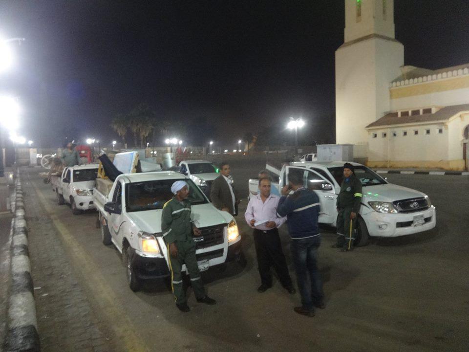 مجلس مدينة الأقصر وشرطة المرافق تحرر وتضبط 147 محضر ومخالفة (5)
