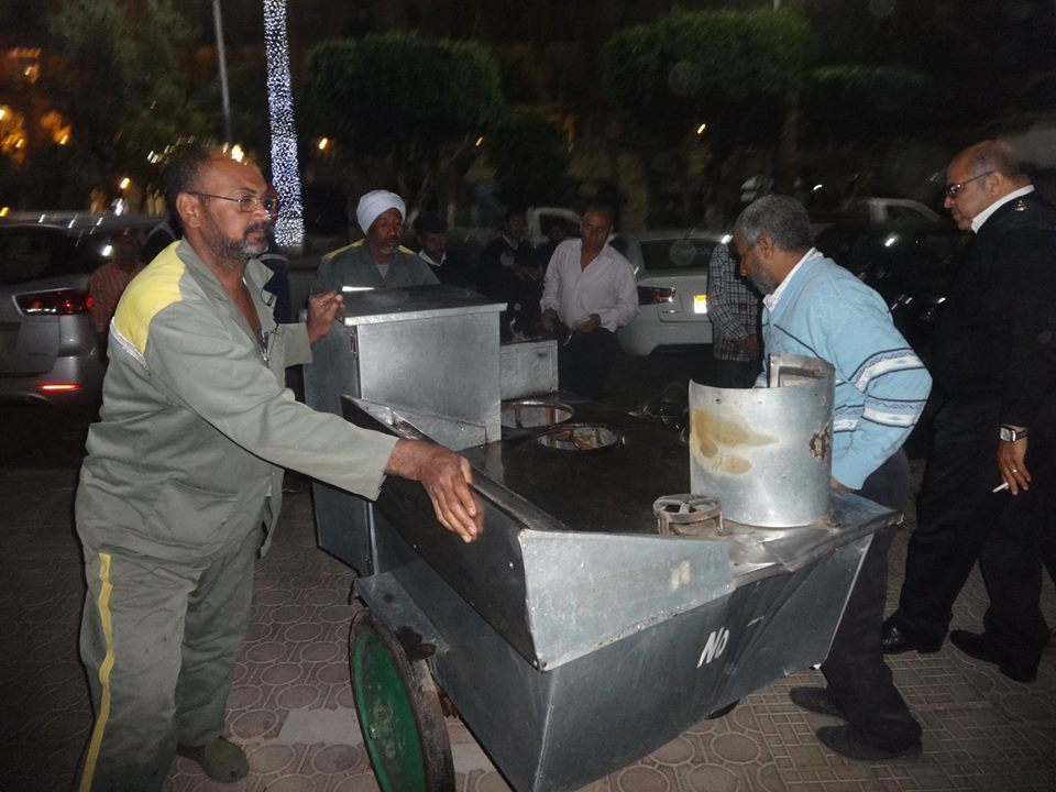 مجلس مدينة الأقصر وشرطة المرافق تحرر وتضبط 147 محضر ومخالفة (2)