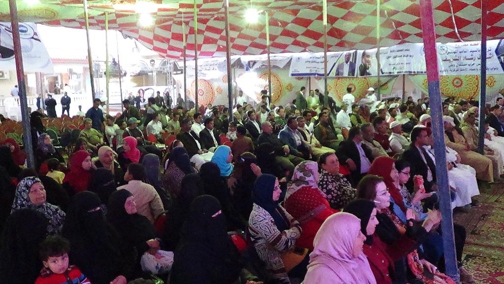 مؤتمر دعم الرئيس السيسي بمطروح بحضور رئيس حزب مستقبل وطن (3)