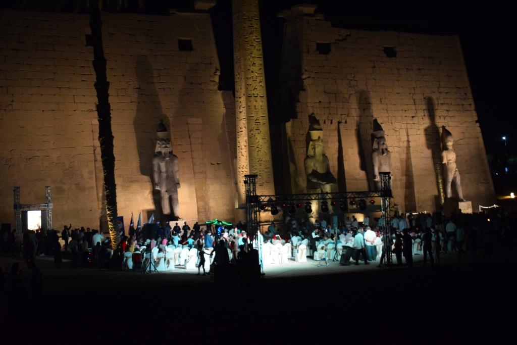 تمثال جديد للملك رمسيس يعود لواجهة معبد الأقصر (5)