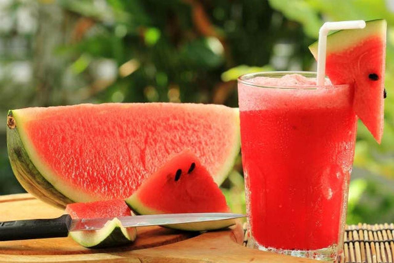 عصير البطيخ