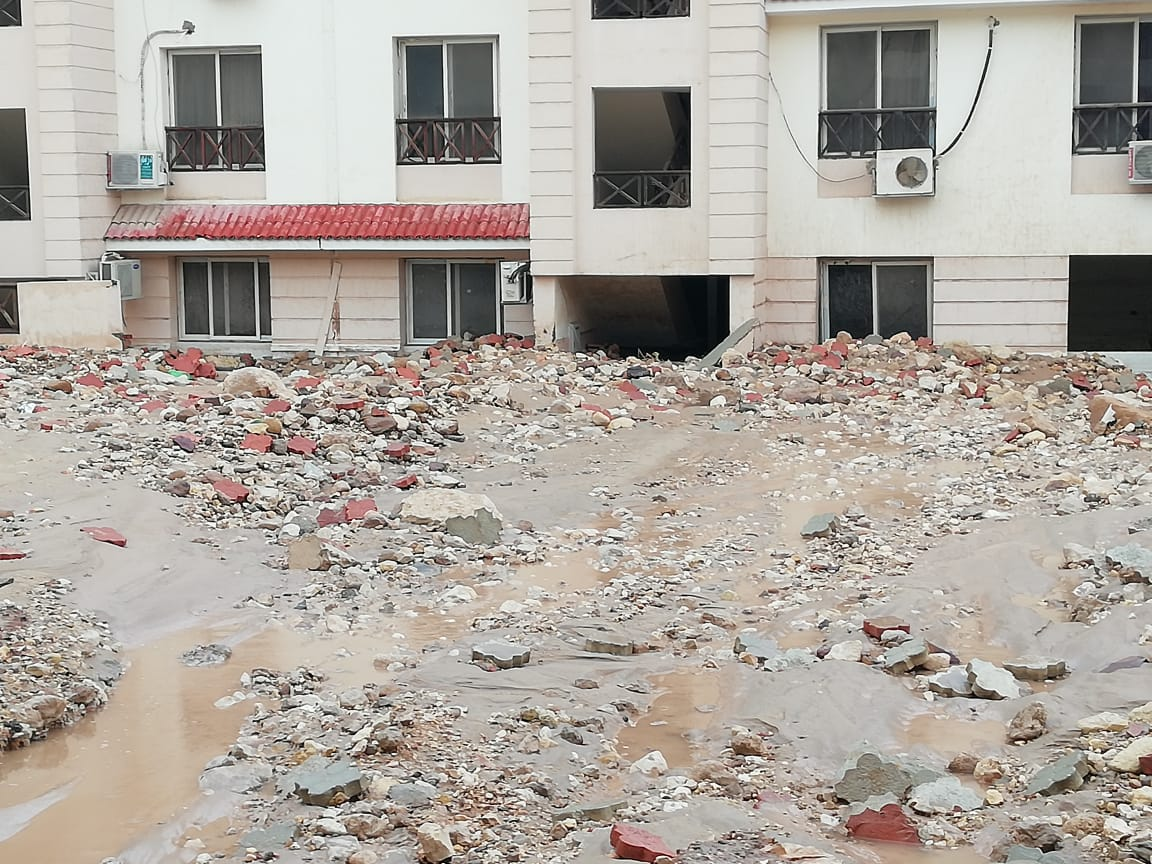 6- خسائر بسبب السيول