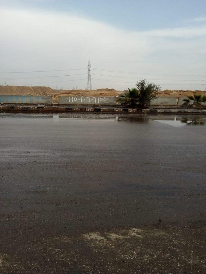 شفط مياه الأمطار بالهرم