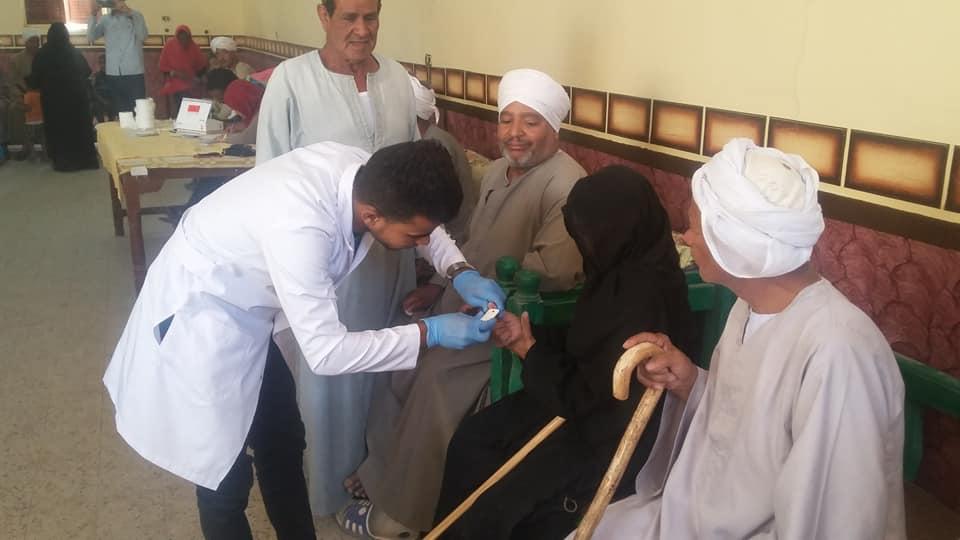 مركز تحيا مصر لفيروس سي يحلل لـ850 مواطن بمدينة الطود جنوب الأقصر (1)
