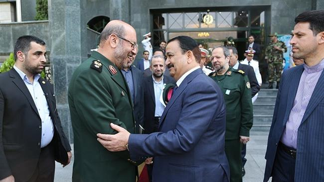 وزيرا الدفاع الإيراني والعراقي
