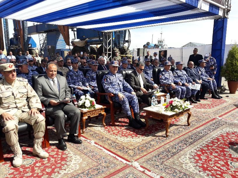 تدشين قاطرتين تحيا مصر بميناء الإسكندرية  (7)