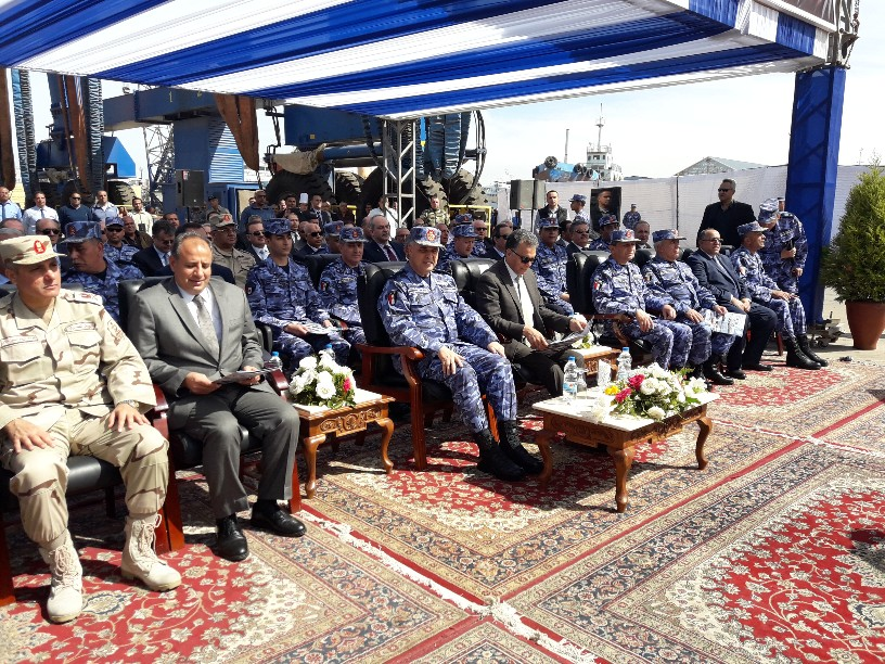 تدشين قاطرتين تحيا مصر بميناء الإسكندرية  (8)