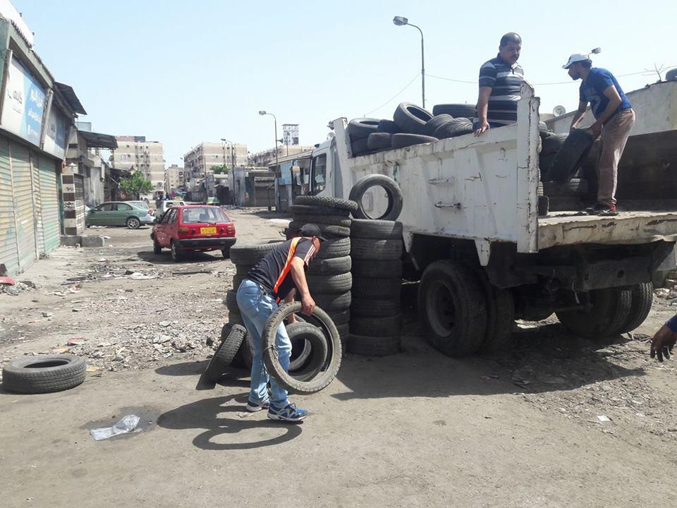 حملات جمع اطارات السيارات3