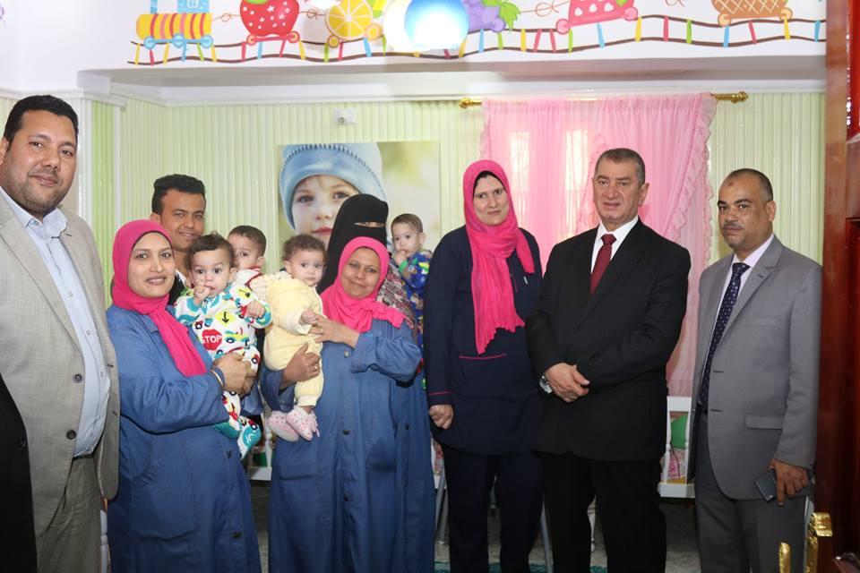 9- المحافظ بدار الاطفال الرضع