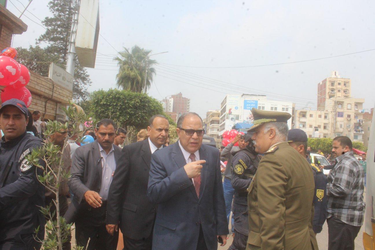 2- مدير أمن كفر الشيخ يتابع الحالة الأمنية